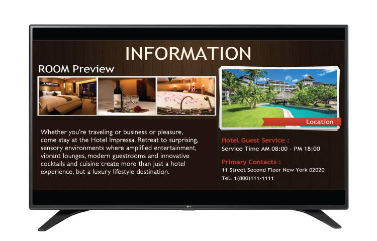 "49"" Class (46.3"" Diagonal) Direct LED SuperSign Commercial TV ... 9d4c6f22c398"
