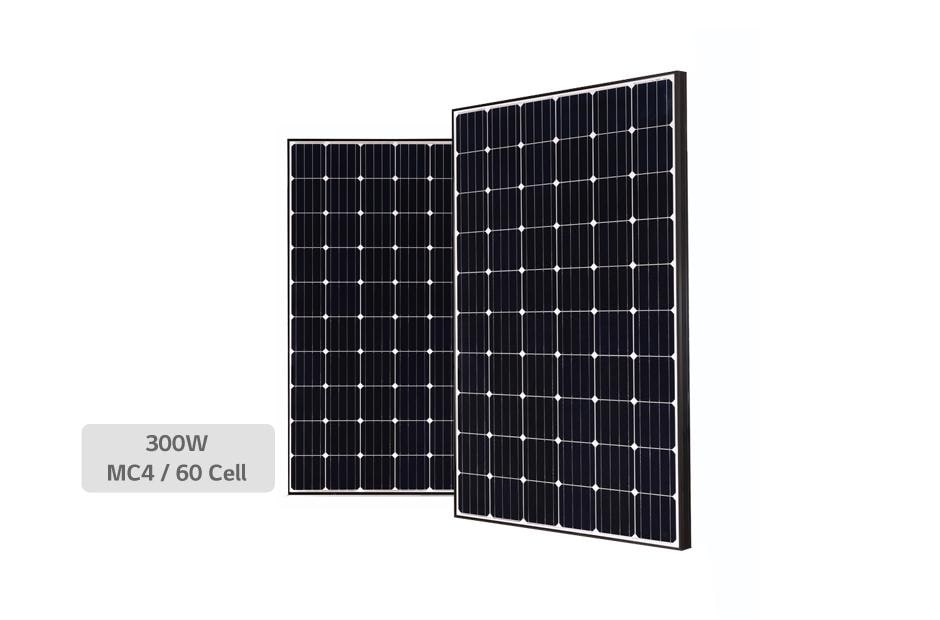 LG LG300S1C Black MonoX Plus 300 watt Solar Panel