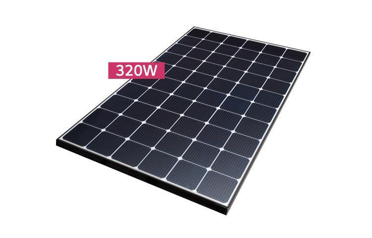 High Efficiency LG NeON® 2 Module Cells: 6 x 10 Module efficiency 19 5%  Connector Type: MC4, MC4 Compatible, IP67