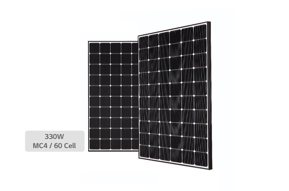 LG NeON2 LG-330N1C-A5 Black Frame Mono Solar Panel