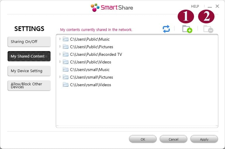 Smart Share for Windows: Installation, Setup, and Use - PC Software