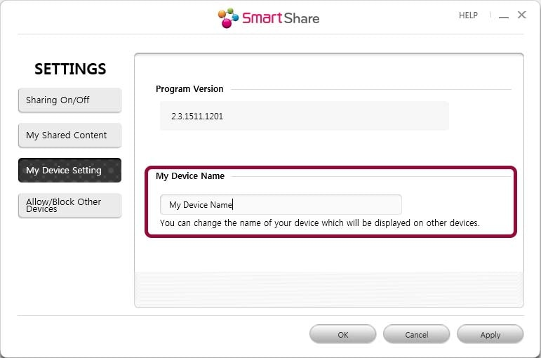Smart Share for Windows: Installation, Setup, and Use - PC