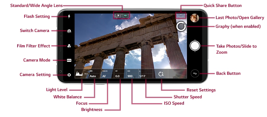 LG V30 Camera Overview and Settings | LG USA Support