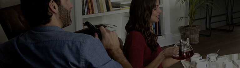 Making it easy to control your LG appliances and TV with your voice.