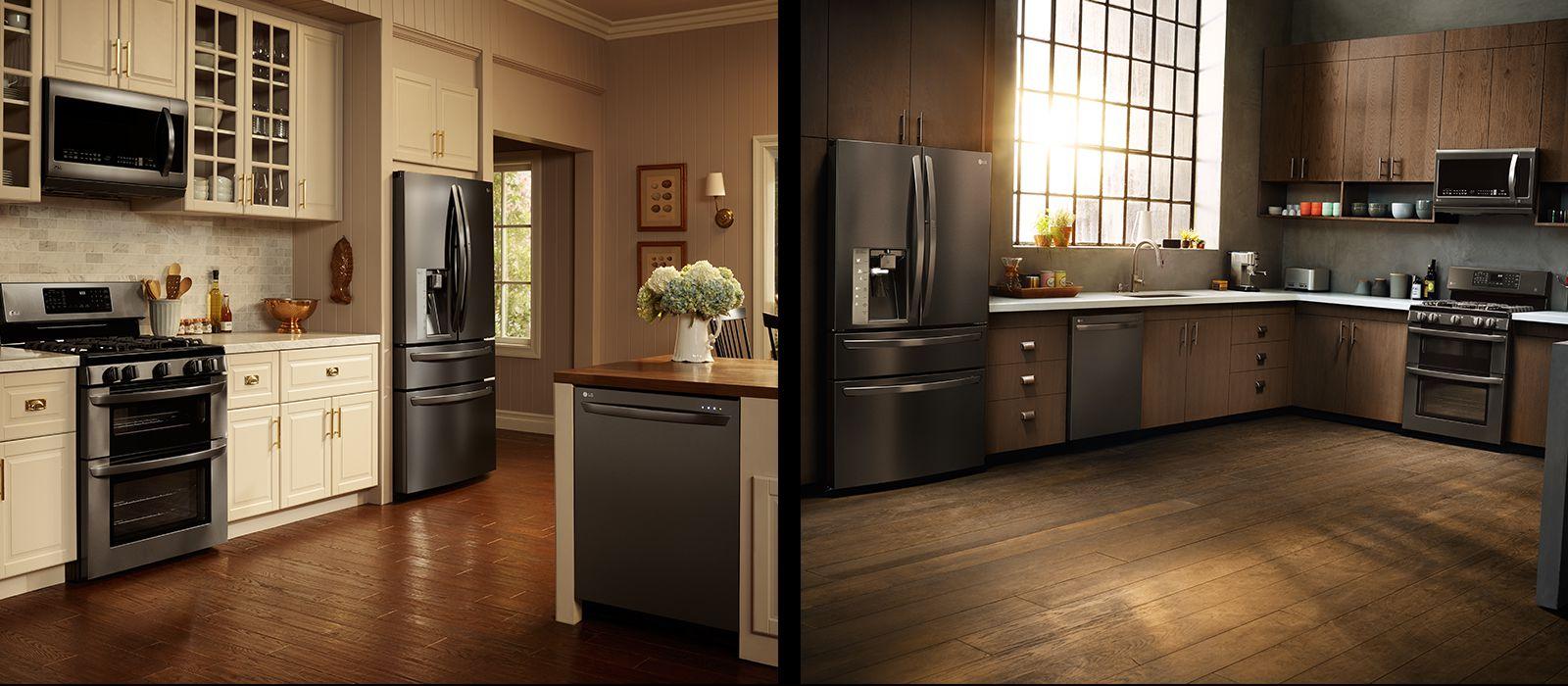Lg Black Stainless Steel Style Design Lg Usa