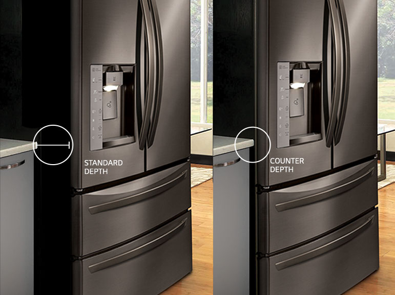 LG Counter Depth Refrigerators: Built In Look For Your Kitchen | LG USA