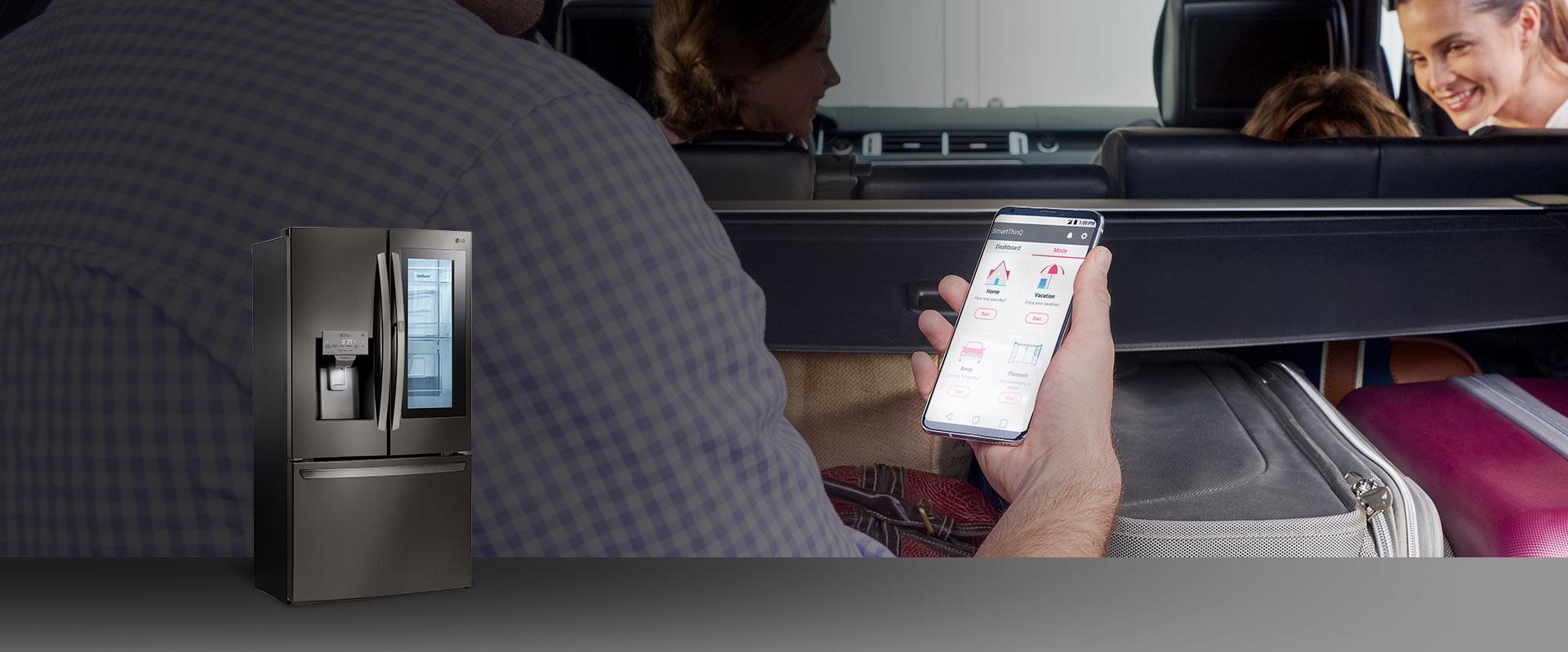 LG SmartThinQ Kitchen: Smart Refrigerators, Ranges, & Dishwashers