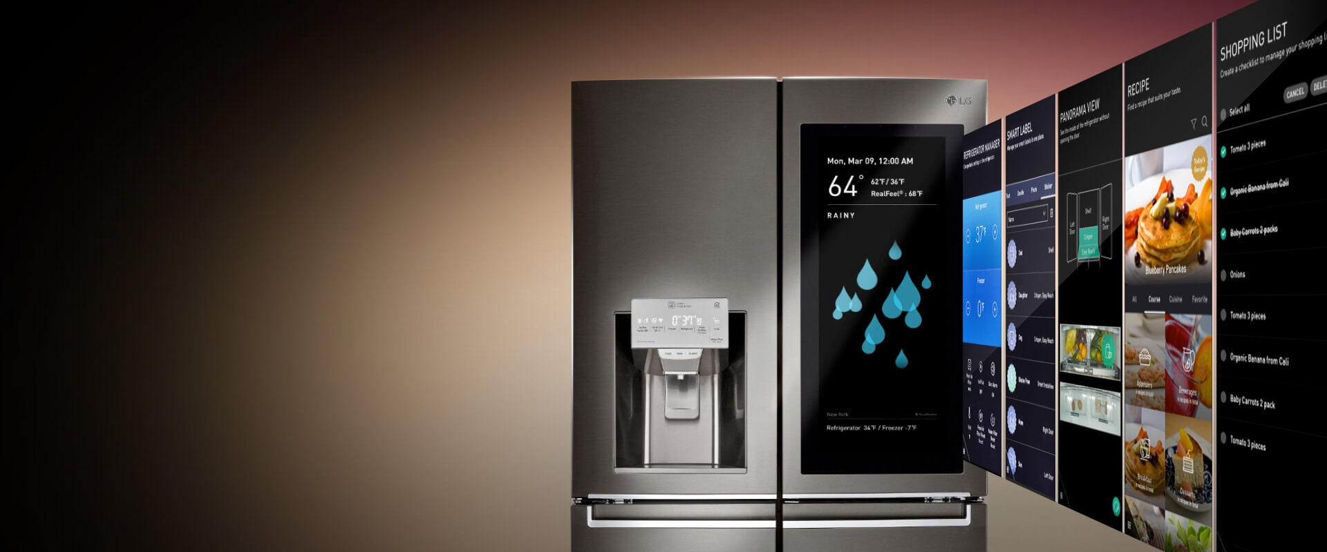 COMING SOON: LG InstaView ThinQ™ Refrigerator