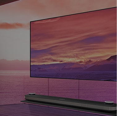 LG SIGNATURE OLED TV W8 - α9 Intelligent Processor Renowned Wallpaper Design