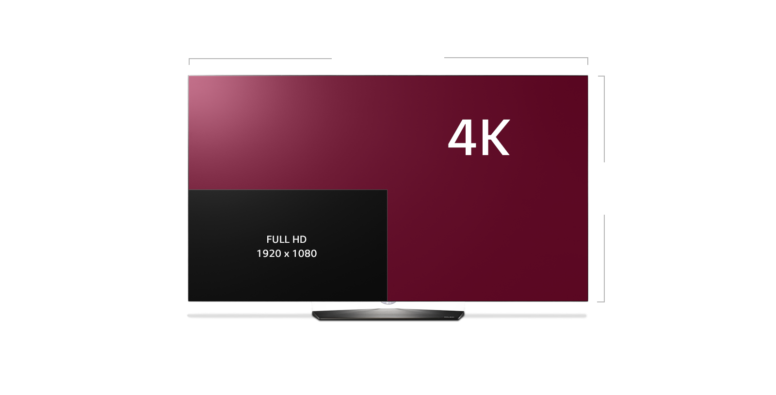 Tv Lg Oled 4k Lg Oled 4k Hdr Smart Tv Oled65e6p Home  # Meuble Tv Violet