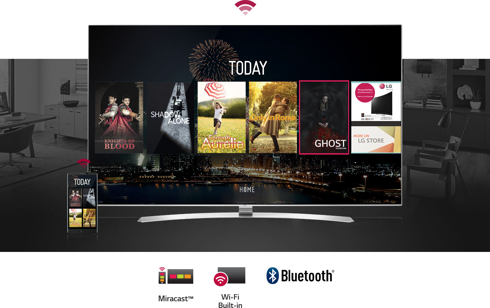 Connect laptop to smart tv via bluetooth