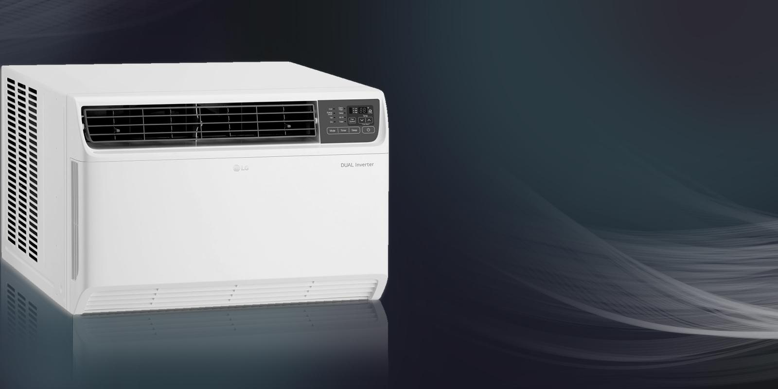 Lg Window Air Conditioner Units Efficient Cooling Usa Conditioning Fridge Hvac Programmable Thermostat Wiring Stay Cool And In Control Powerful Conditioners