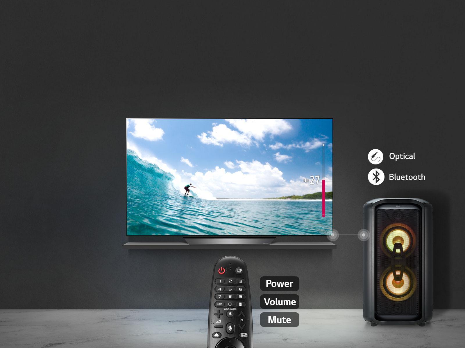 Lg Tv Volume Control On Tv