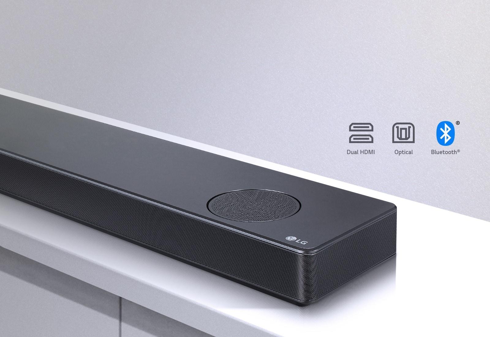 LG SL10Y 5 1 2 Channel 570W Sound Bar w/Meridian Technology & Dolby Atmos