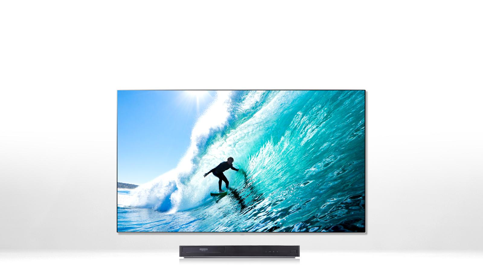 LG UP870: 4K Ultra HD Blu-ray Disc™ Player with HDR Compatibility ...