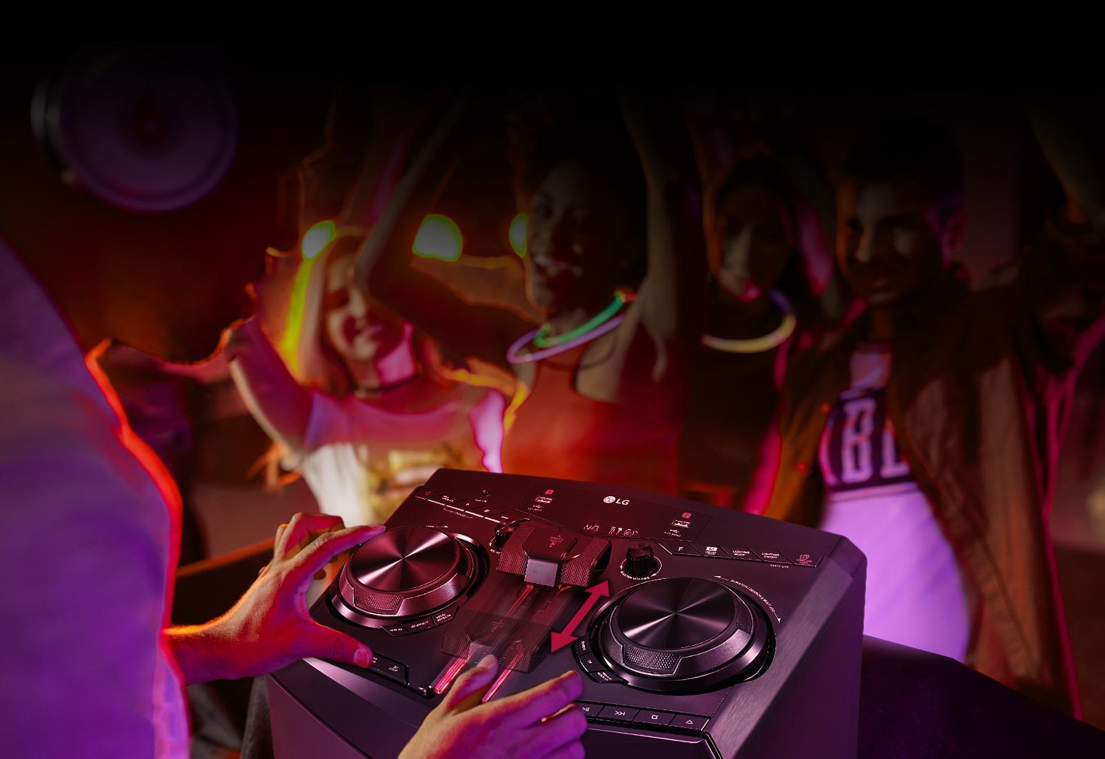 Lg Oj98 Xboom 1800w Hi Fi Speaker System With Bluetooth Audio Wiring Plans For Nightclub Party Thruster