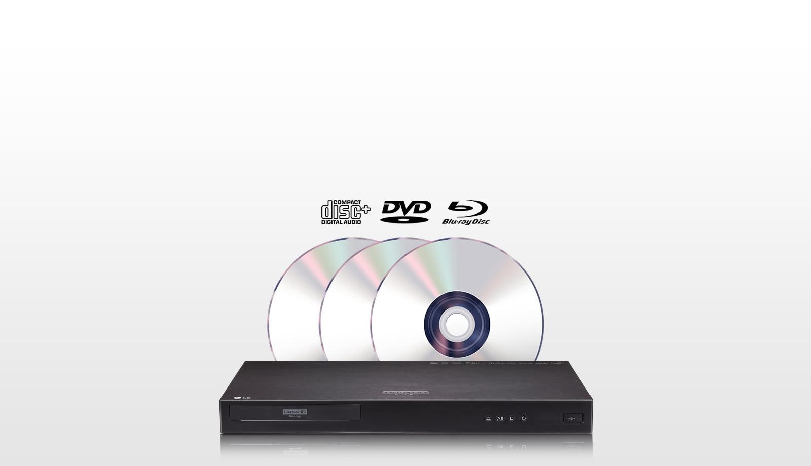 Blu-ray DVD Compatible