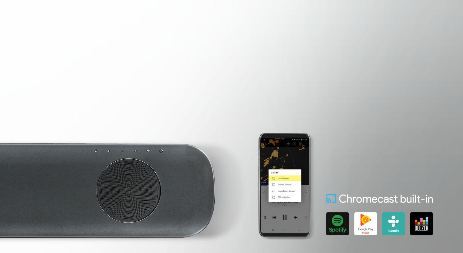 Chromecast Compatible