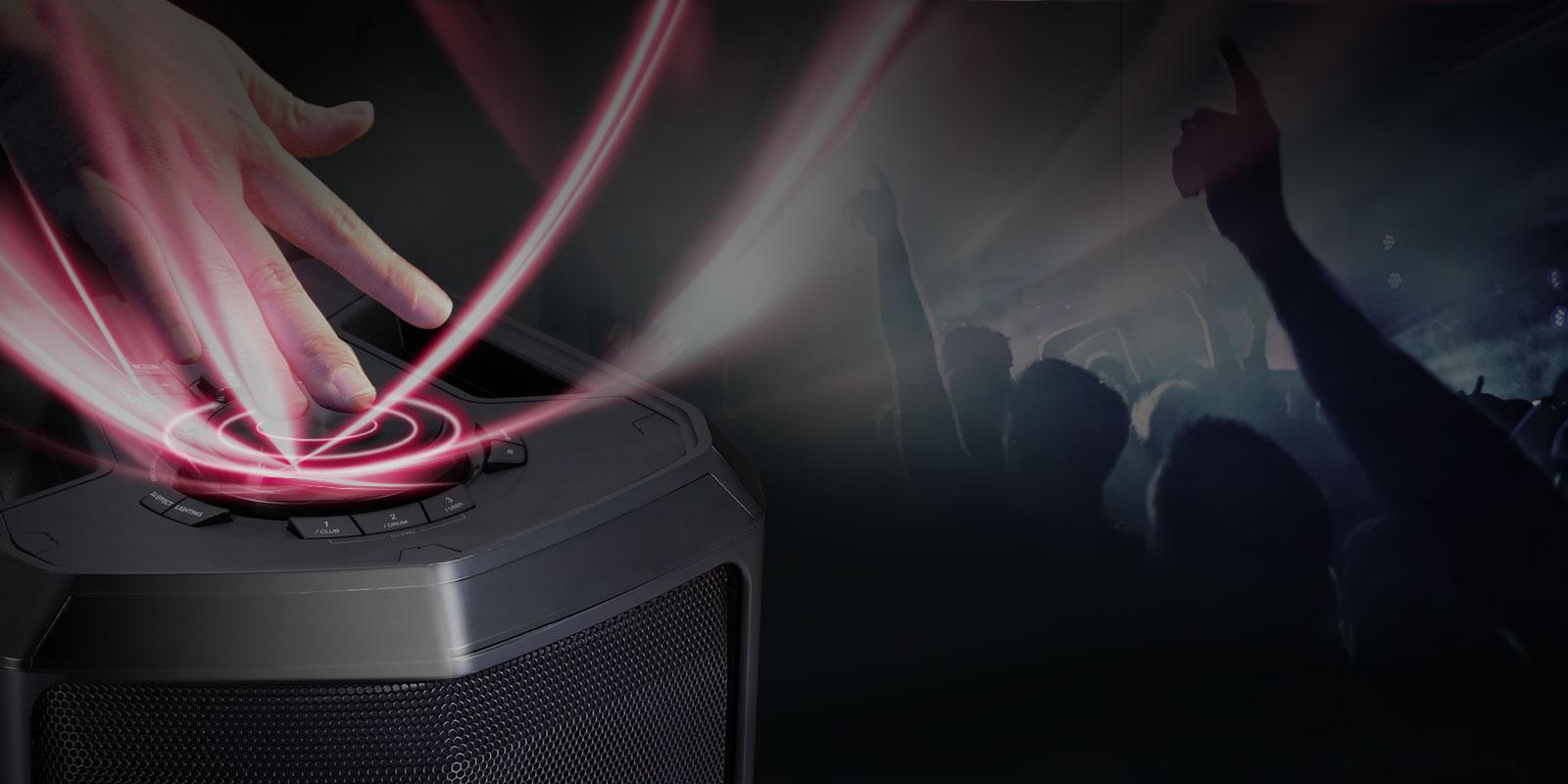 Lg Fh6 Xboom 600w Speaker System With Bluetooth Connectivity Videoke Wiring Effects Creator