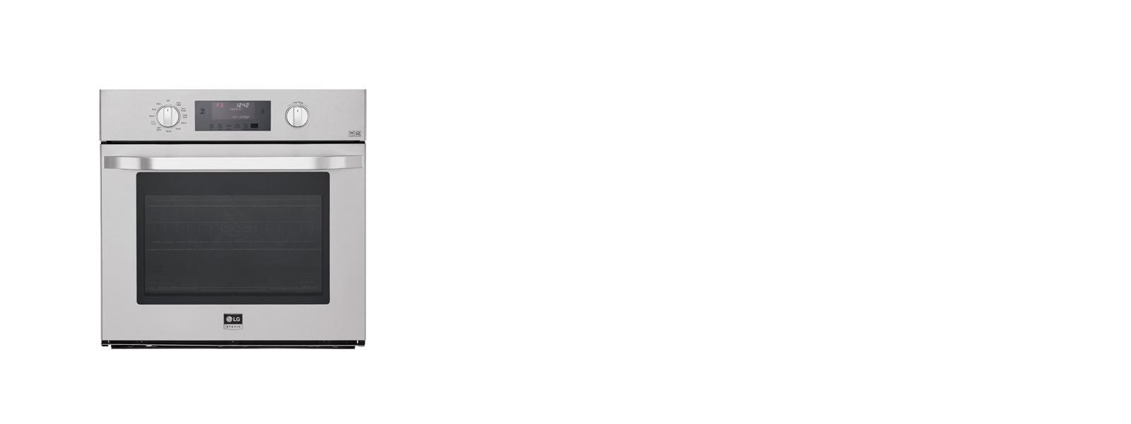 Lg lsws306st 4 7 cu ft capacity single wall oven lg usa for Perfect bake pro system