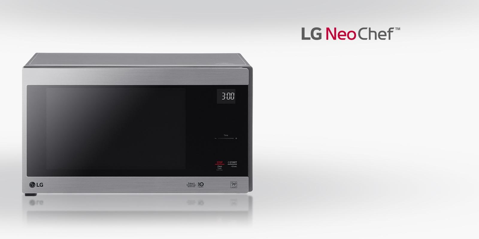 A Microwave Design That Brings The Heat Lg Neochef Countertop