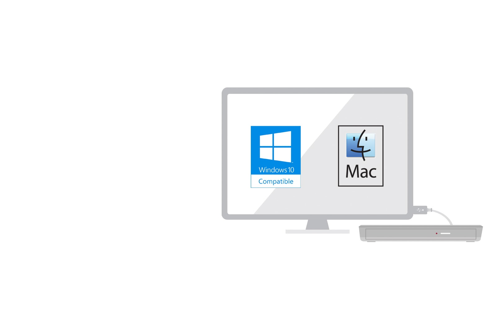 Win 10 & MAC OS Compatible1