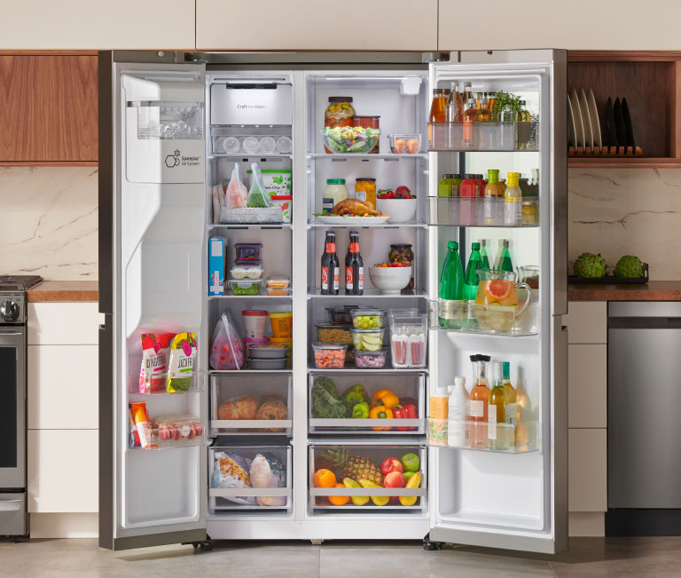 Stock it up with 27 cu. ft.2