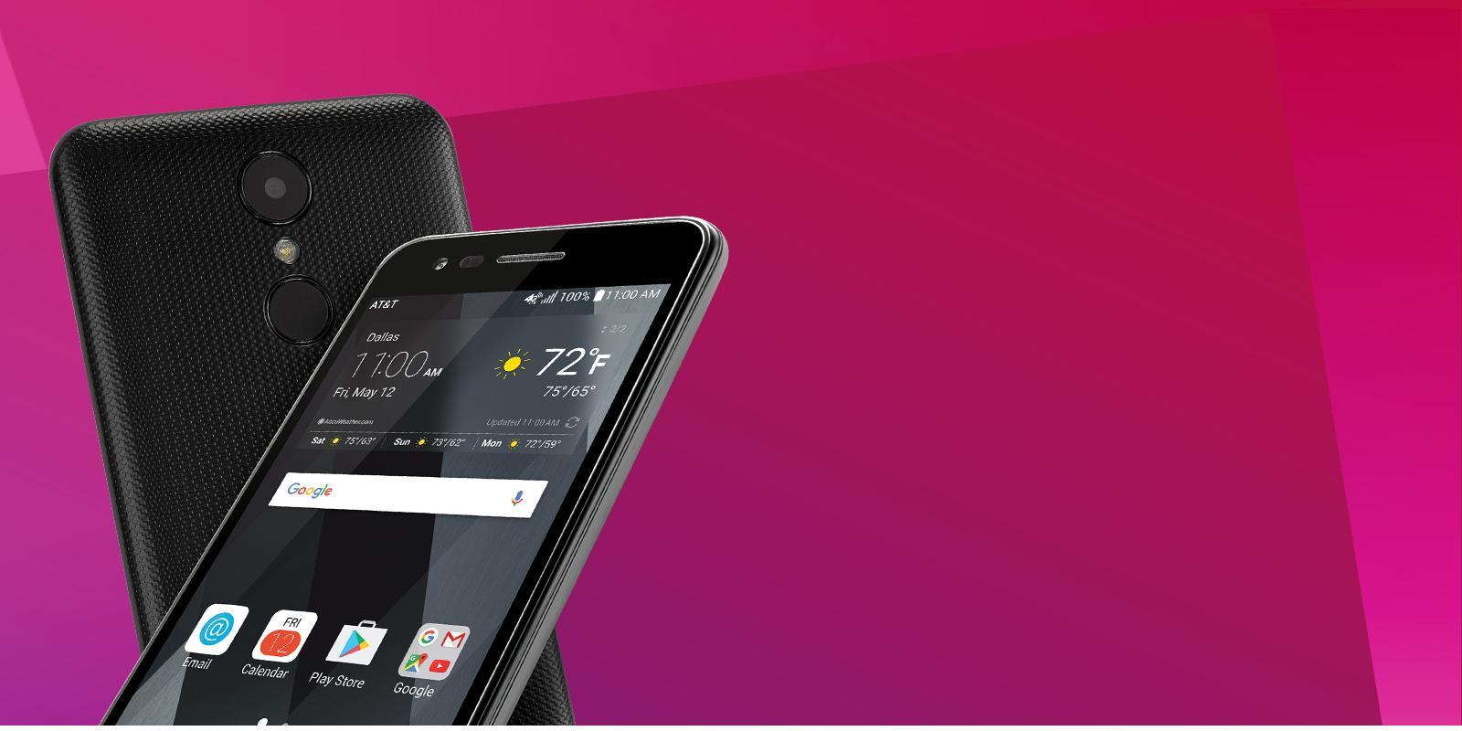 Lg Phoenix 3 Prepaid Go Smartphone For Att M150 Usa At Amp T Telephone Wiring Diagram 2500 5 Mp Autofocus Rear Camera