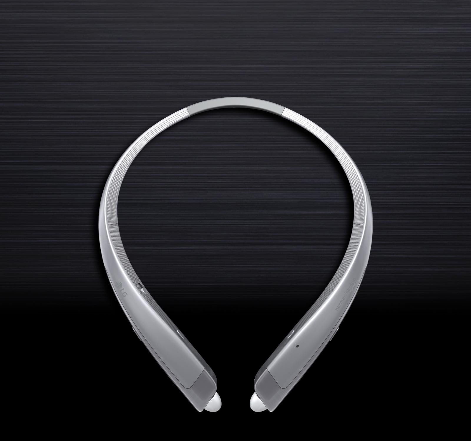 a45ff6e38e0 LG TONE PLATINUM Bluetooth Wireless Headset-Silver | LG USA