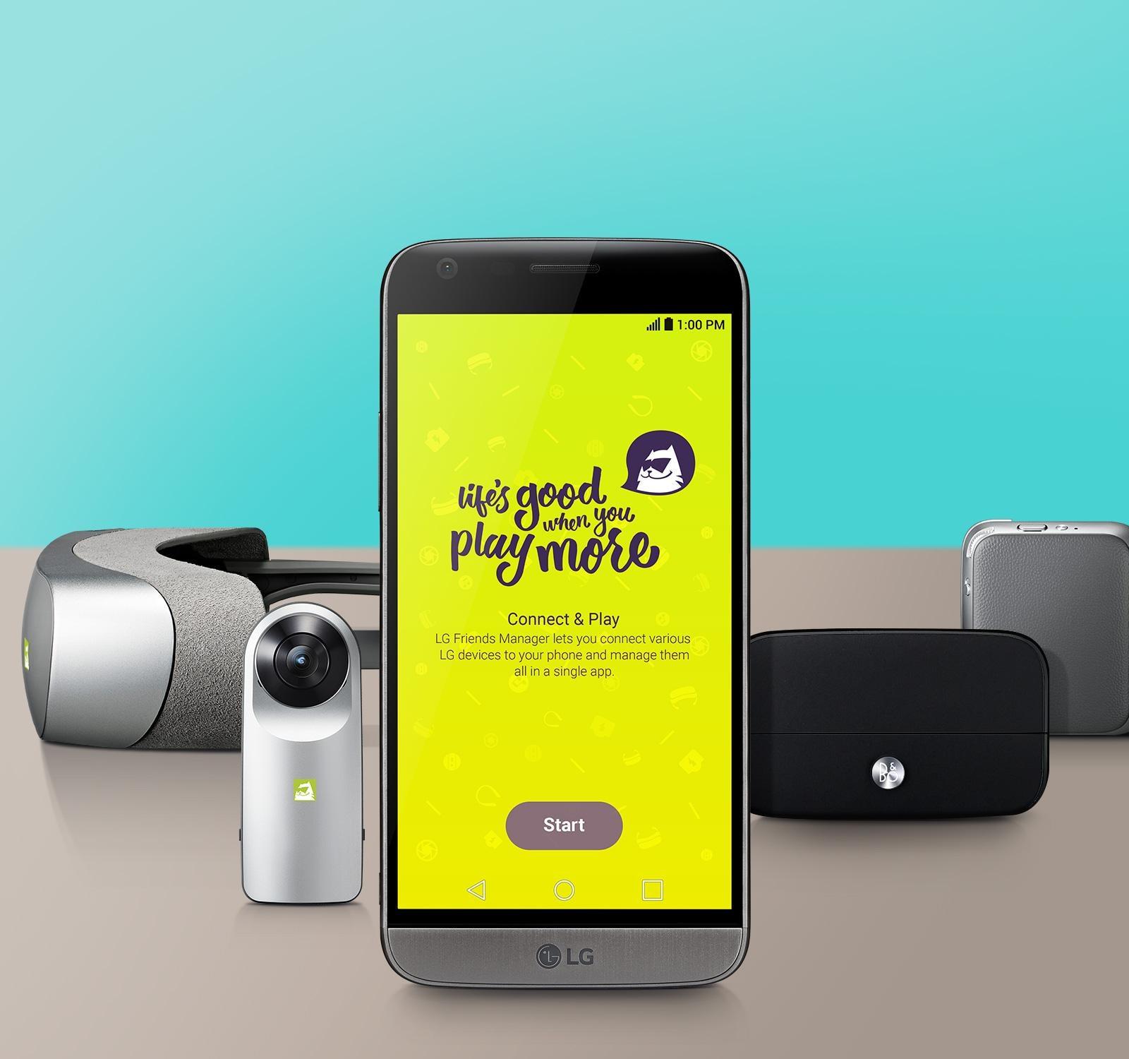 LG G5 Verizon (VS987) Silver with 2,800 mAh Removable