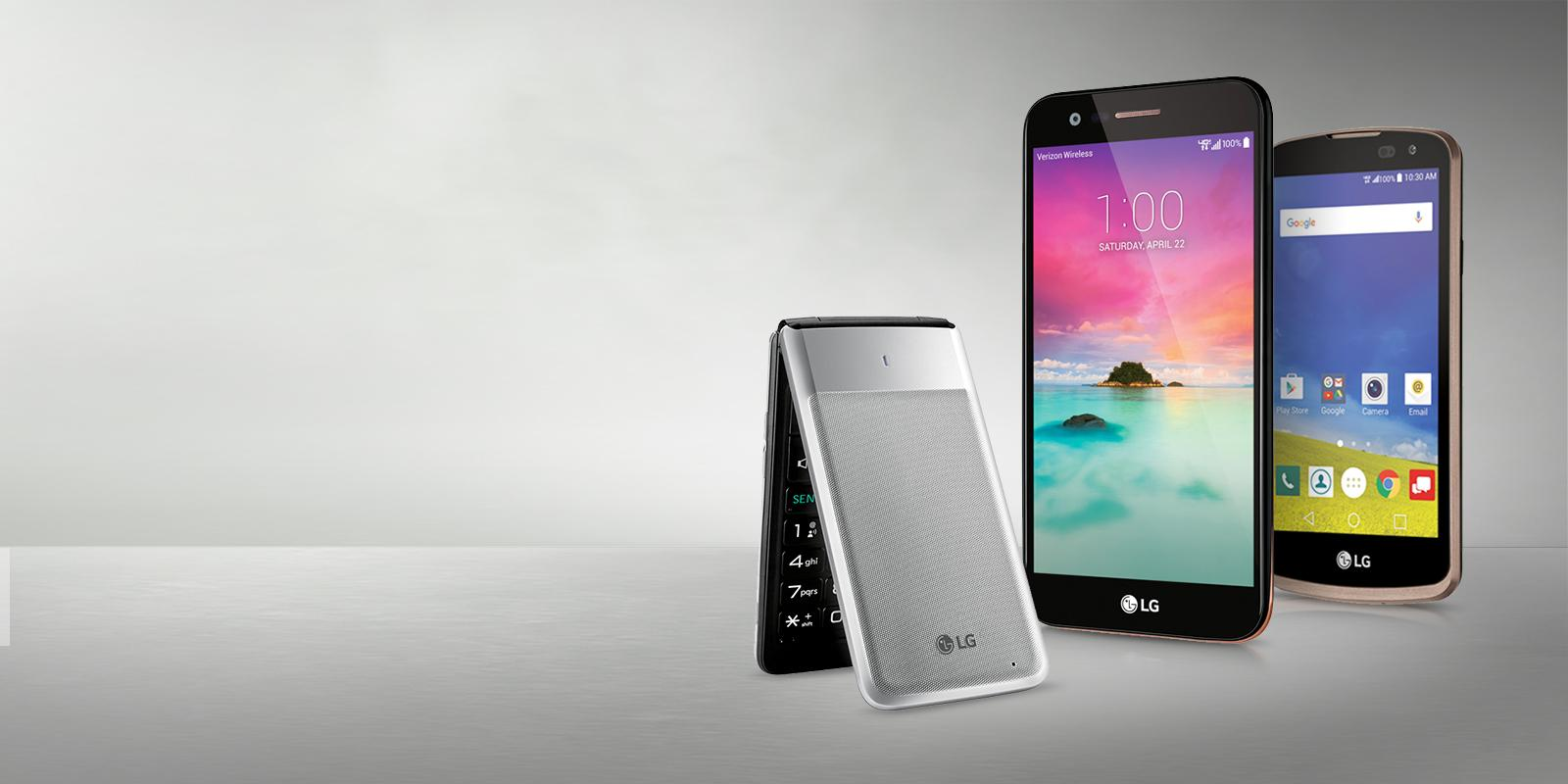 Verizon Basic Phones by LG: Flip Phones, Senior Phones ...