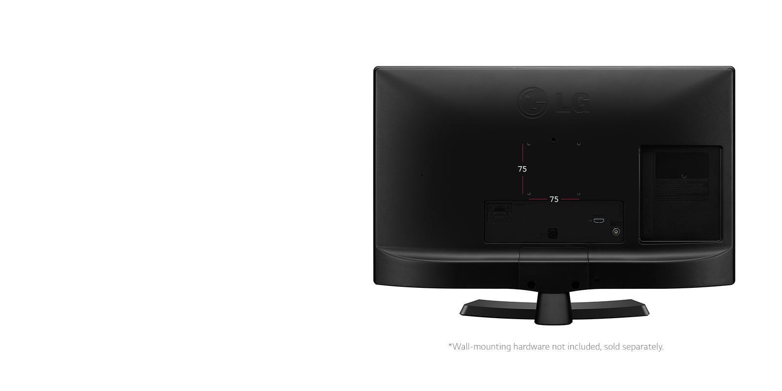 "720p LED TV – 24"" Class (23 6"" Diag)"
