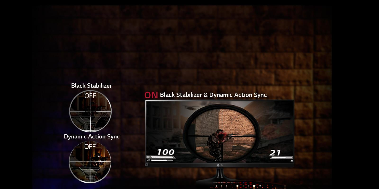 Black Stabilizer 29UM58-P