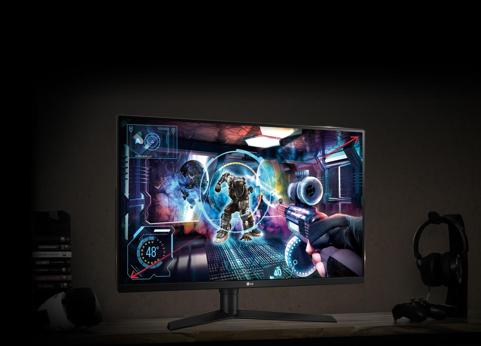 "32"" Class QHD Gaming Monitor with G-SYNC™ (31 5"" Diagonal)"