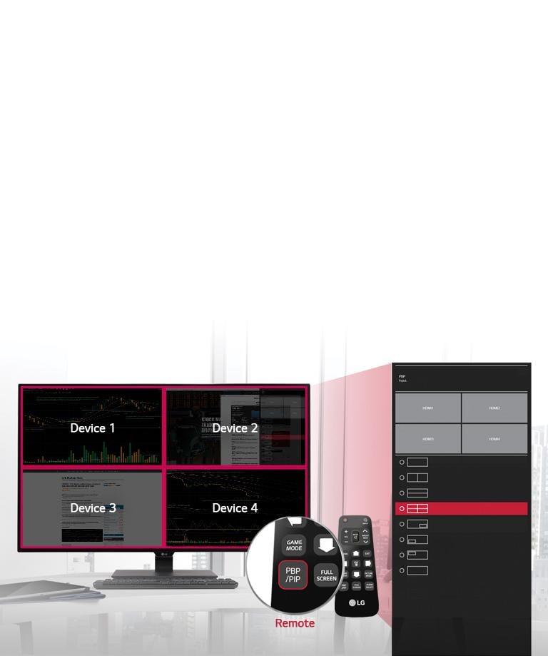 43'' Class 4K UHD IPS LED Monitor (42 5'' Diagonal)