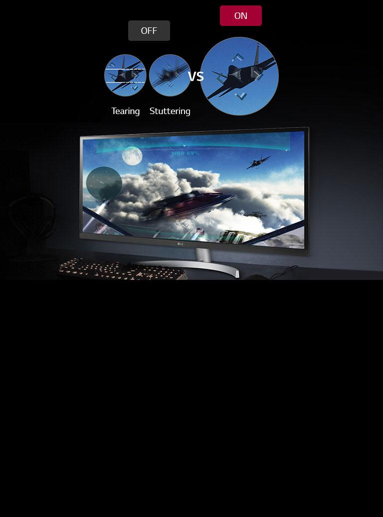34'' Class 21:9 UltraWide® Full HD IPS LED Monitor with HDR 10 (34''  Diagonal)