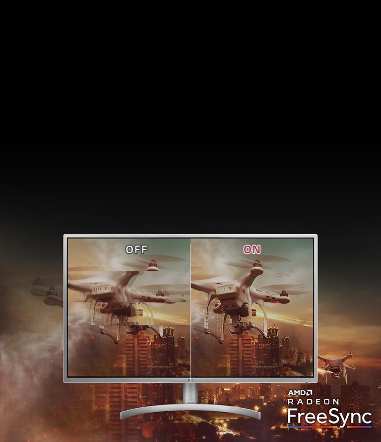 32'' Class QHD LED IPS Monitor with Radeon FreeSync™ (31 5'' Diagonal)