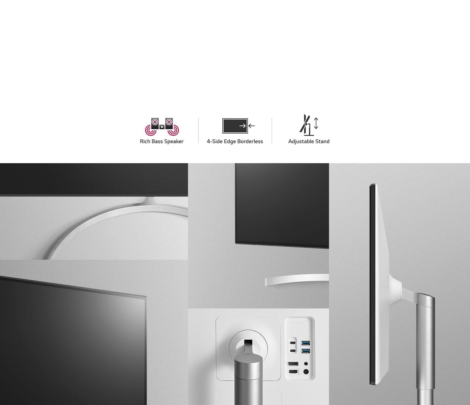 32'' Class UltraFine™ 4K UHD LED Monitor with Thunderbolt™ 3 (31 5''  Diagonal)