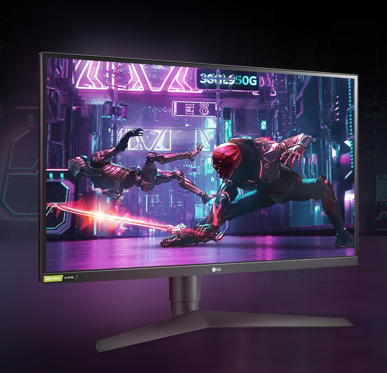 LG 27GL850 27'' UltraGear™ Nano IPS 1ms Gaming Monitor with G-Sync®  Compatibility