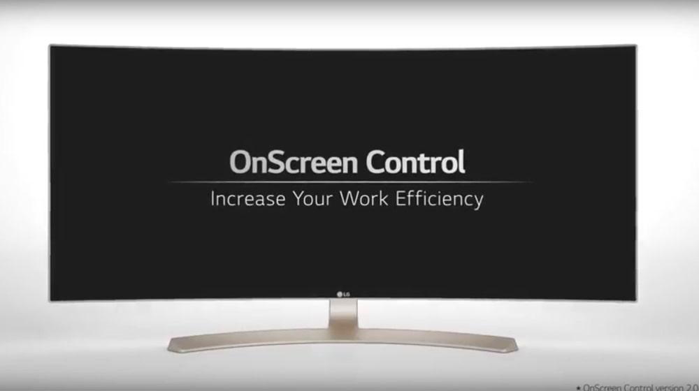 Control en pantalla