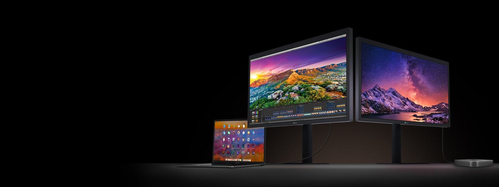LG UltraFine™ 5K & 4K Monitors for MacBook / MacBook Pro