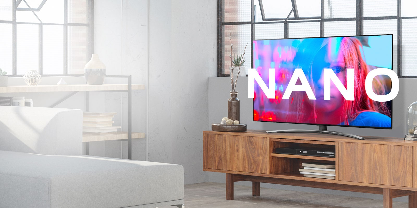 Bring Home the LG NanoCell TV SM9000