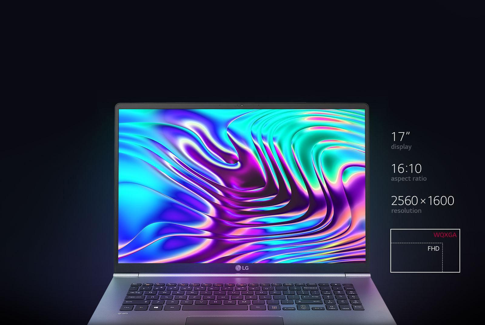 "LG gram 17"" Ultra-Lightweight Laptop with Intel® Core™ i7 processor"
