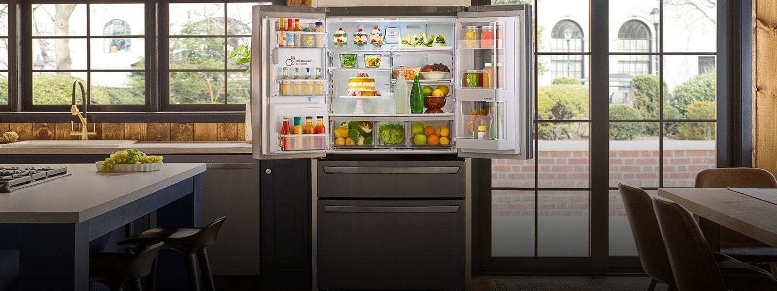 Best Top Freezer Refrigerators 2020.Lg Large Capacity Refrigerators Get Extra Storage Lg Usa
