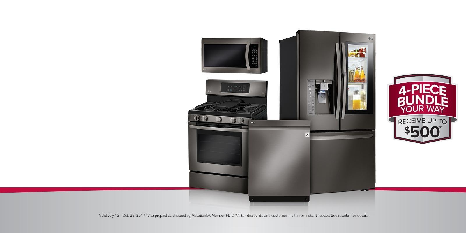 Lg deals on home appliances lg usa - Large kitchen appliance ...