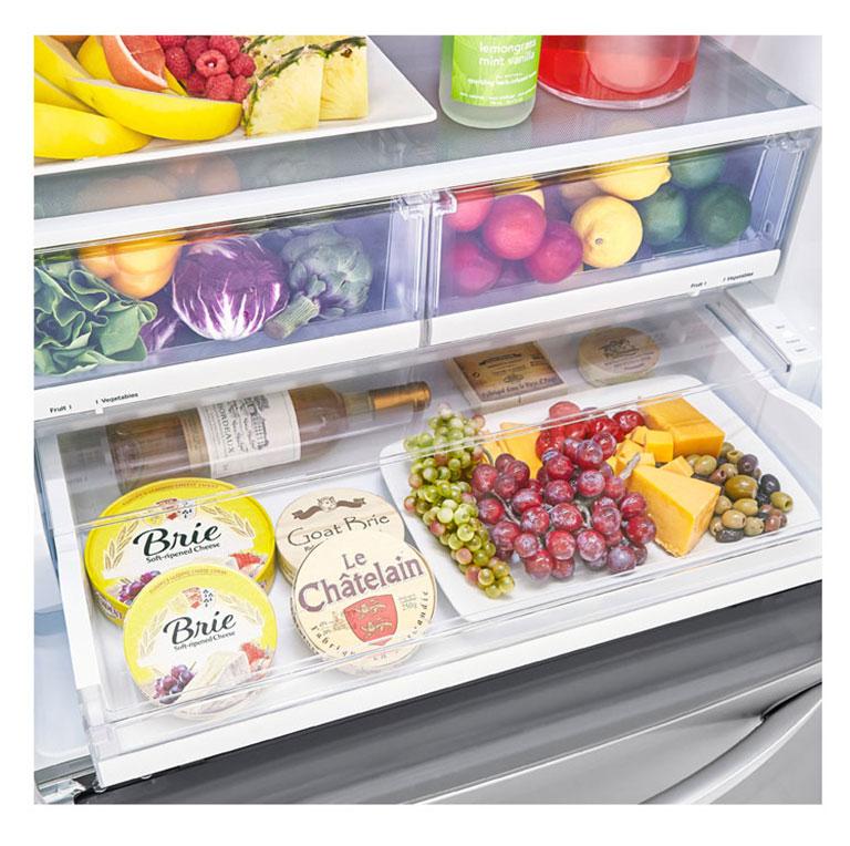 Lg Lrfxs2503s 25 Cu Ft French Door Refrigerator Lg Usa