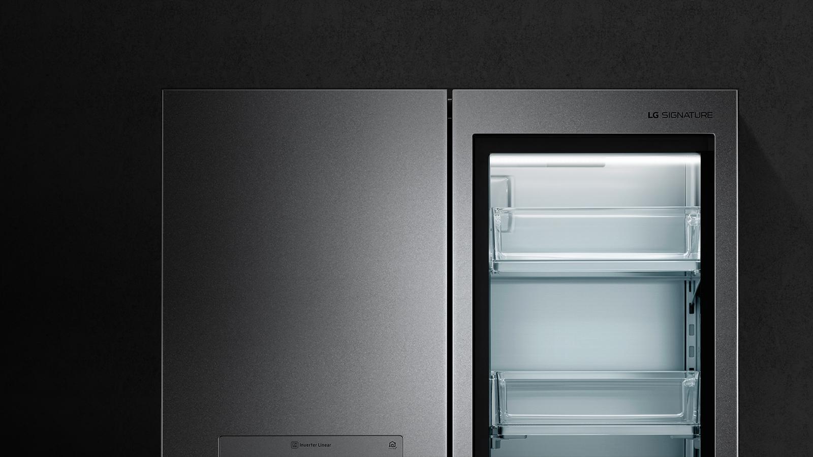 Lg Lupxs3186n Instaview Door In Smart Refrigerator Usa Open Alarm Circuit Electronic Projects Instaviewdoor