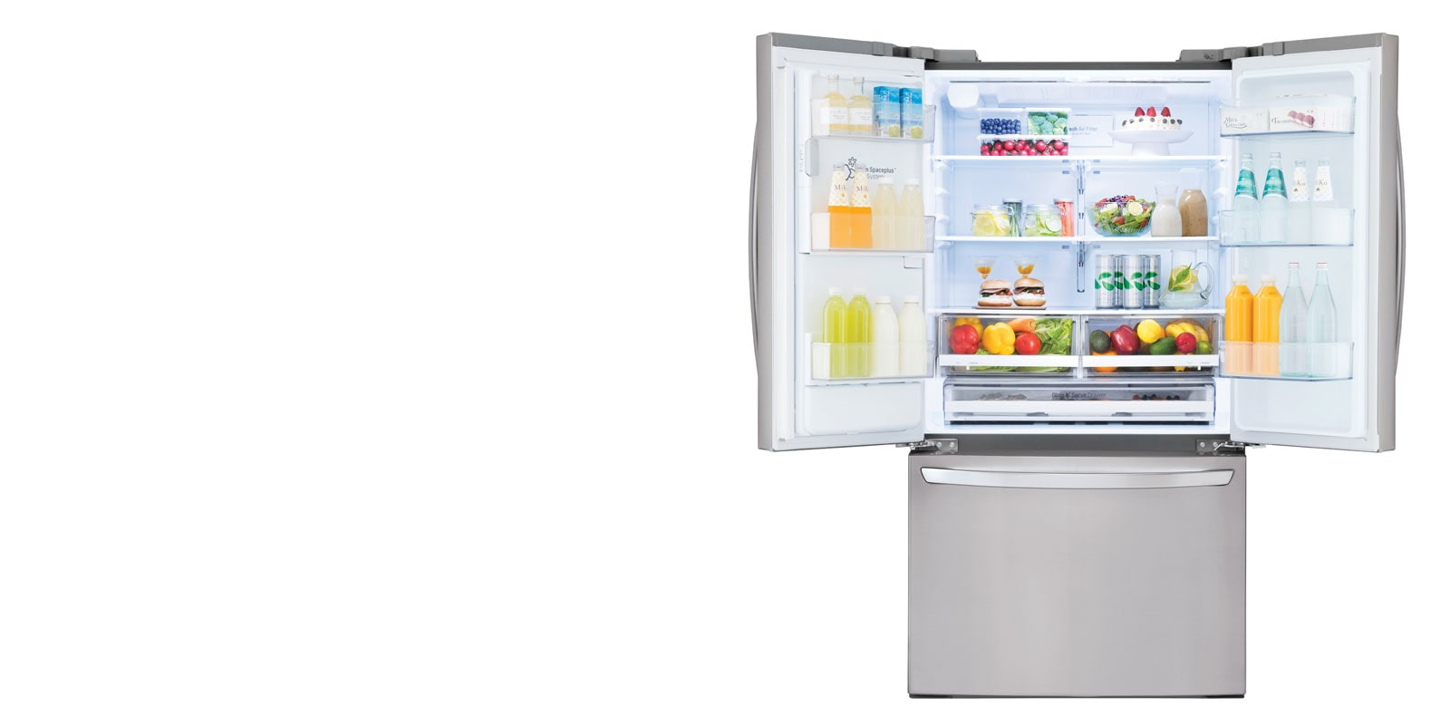 26 cu  ft  Smart wi-fi Enabled French Door Refrigerator