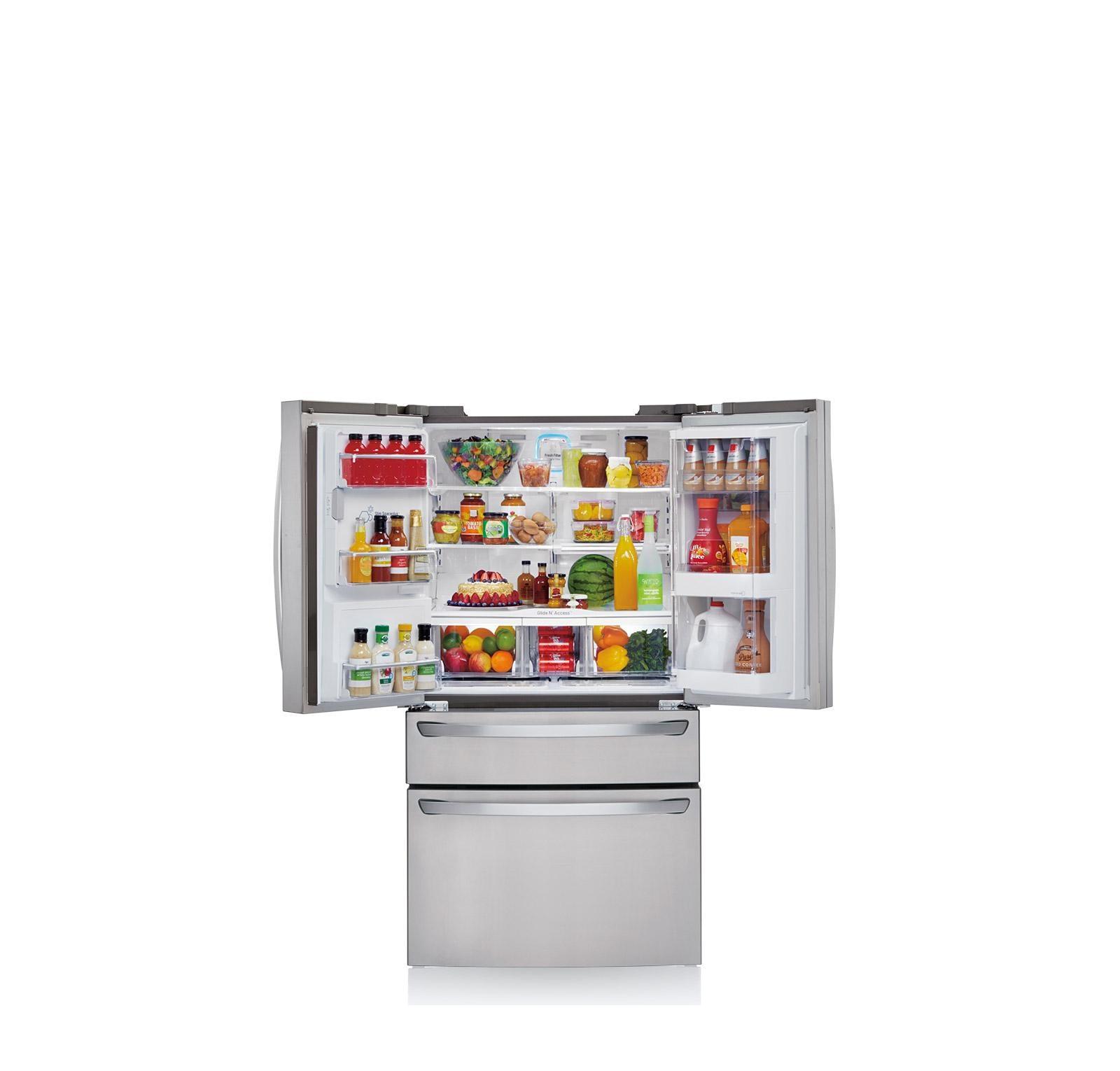 Lg Lmxs30776s 4 Door French Door Refrigerator With