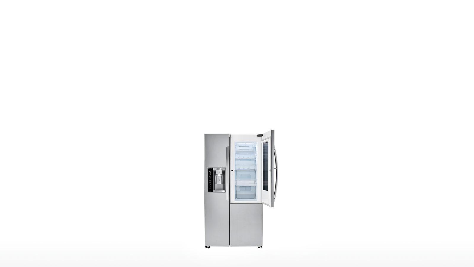 LG 26 cu.ft. InstaView Door-in-Door Side-By-Side Refrigerator